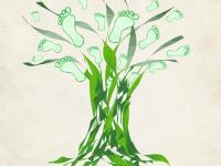 Baumlogo einfach